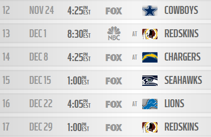 giants sched