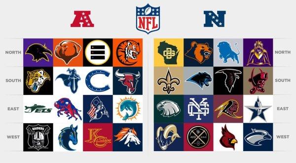 ospreydawn NFL LOGOS