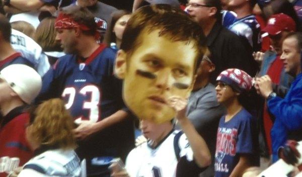 big head Brady